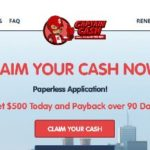 Captain Cash personal loans Review