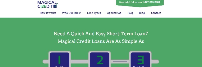 Magical Credit Personal Loans Review