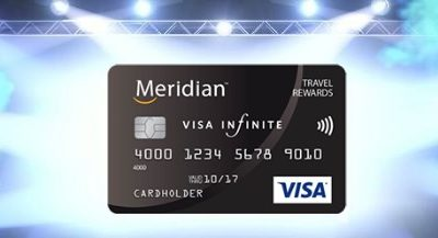 Meridian Visa Infinite Travel Rewards Card Review