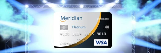Meridian Visa Platinum Cash Back Card Review