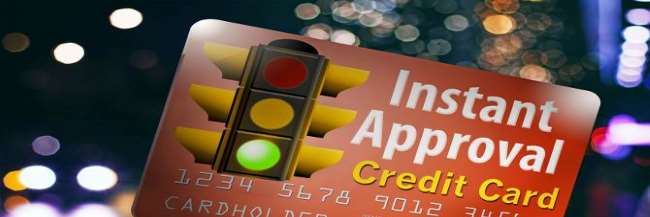 Instant approval credit cards for you