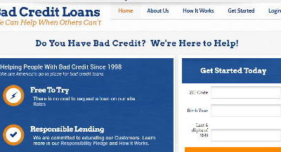 BadCreditLoans.com Review