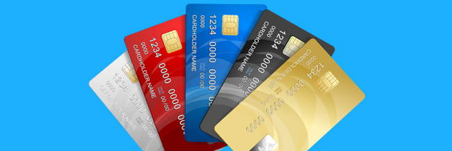 6 of the most common credit card types