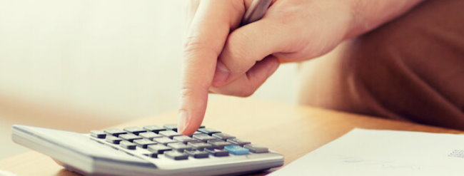Calculate payments with installment loans equation