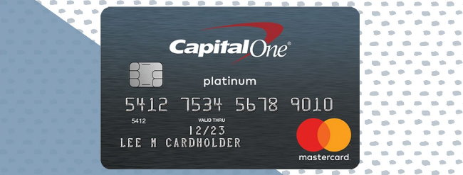 About Capital One Platinum Mastercard